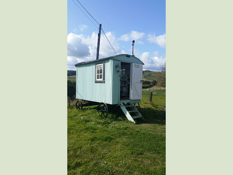 Shepherds Hut, Manor Farm, South Downs Way, Cocking, W. Sussex